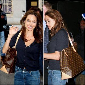 LOUIS VUITTON Angelina Jolie Cabas Bag
